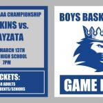 Section 6AAAA Boys Basketball Championship