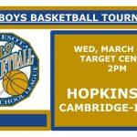 Boys State Basketball Tournament – Info & Permission Slip