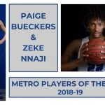 MAKING HISTORY: Hopkins home to both Metro Players of the Year!
