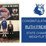 Congratulations to State Champion Weightlifter – Ruth Freiberg