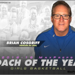 Coach Brian Cosgriff named National Girls Basketball Coach of the Year