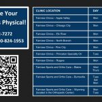 Schedule your Free Sports Physical!