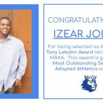 Izear Joiner earns Most Outstanding honors from MAAA