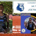 Joe Fahnbulleh – 2019 Mr. Track & Field