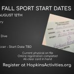 Register for Fall Sports!