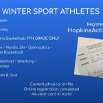 Get registered for the winter season NOW!