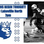 The Royals head to Lakeville North to start Section 6 6A Football