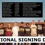 Celebrate National Signing Day – Wed. Feb. 5th