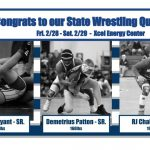 Wrestling Qualifies 3 for the State Tournament