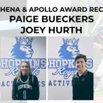 Paige Bueckers & Joey Hurth named 2020 Athena & Apollo Award recipients!