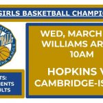 Girls State Basketball Tournament – Info & Permission Slip