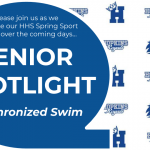 Spring Sports Senior Spotlight – Synchronized Swim