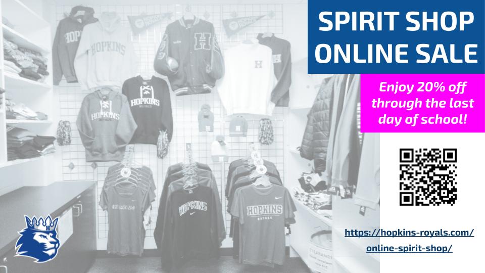Spirit Shop Online Sale – 20% Off!