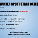 The Winter Season Begins Today – Get Registered!