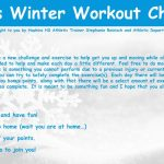 1st Annual Winter Workout Challenge