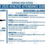 20-21 Winter Sport COVID Info & Spectator Guidelines