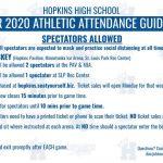 20-21 Hockey Spectator Guidelines