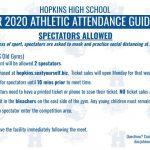 20-21 Gymnastics Spectator Guidelines