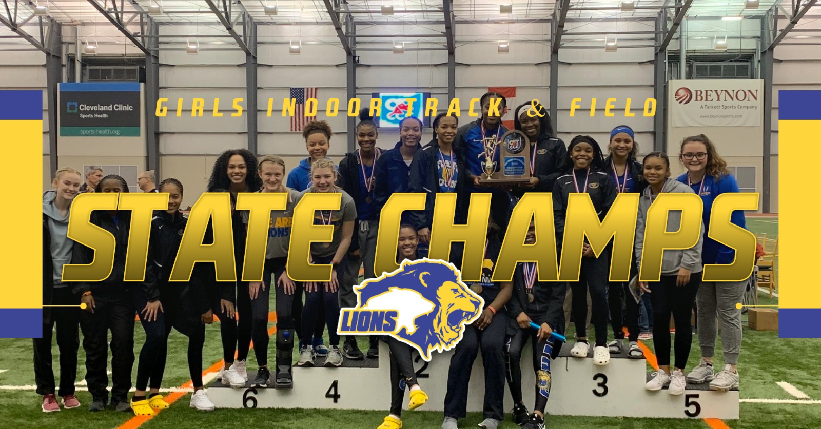 Girls Track & Field – OATCCC INDOOR STATE CHAMPS
