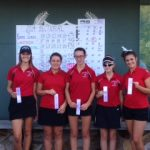 Girls Golf Advances to Regionals