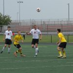 Portage High School Boys Varsity Soccer beat Hobart High School 2-0