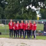 Portage High School Girls Varsity Cross Country finishes 3rd place
