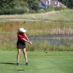 Portage High School Girls Varsity Golf finishes 5th place