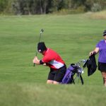 Portage High School Girls Varsity Golf beat Wheeler High School 187-256