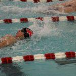 Portage High School Boys Varsity Swimming falls to Michigan City High School 88-98