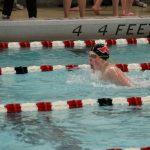 Portage High School Boys Varsity Swimming beat Calumet New Tech High School 126-19
