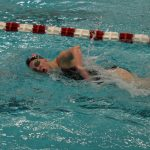 Portage High School Girls Varsity Swimming finishes 3rd place