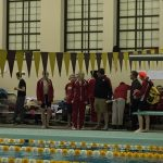 Portage High School Boys Varsity Swimming finishes 5th place