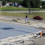 PHS Football Field Turf Construction