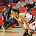 Portage High School Girls Varsity Basketball falls to Merrillville High School 51-27