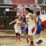 Portage High School Girls Junior Varsity Basketball beat Hammond Clark High School 79-8