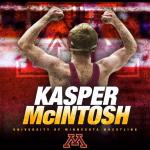 Kasper McIntosh University of Minnesota Wrestling Poster
