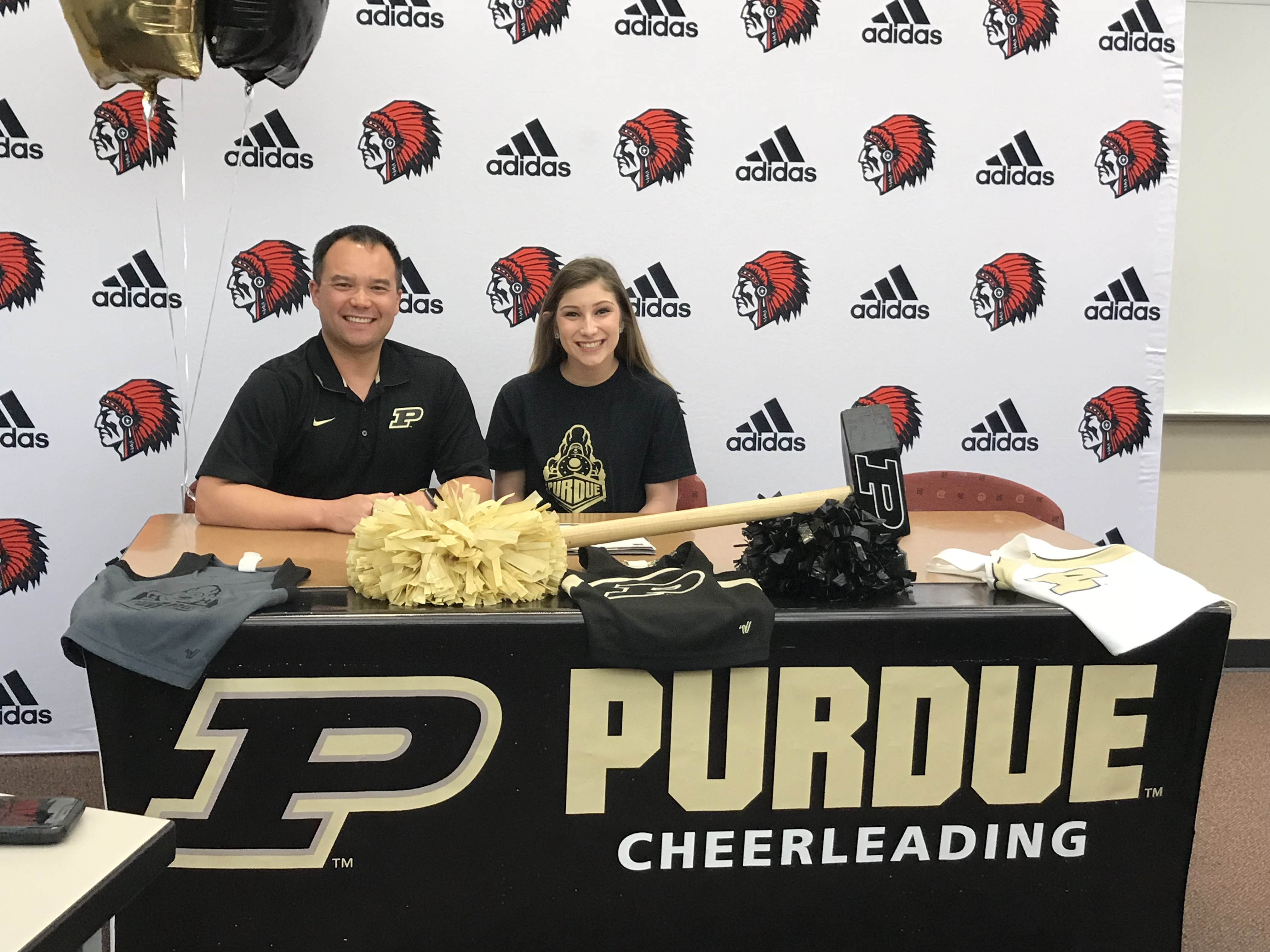 Boiler Up:  Gaffney to cheer for Boilers