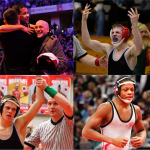 Wrestling collage