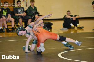 MS Wrestling vs. North Putnam