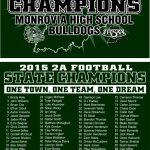 2015 Football State Champions Apparel!