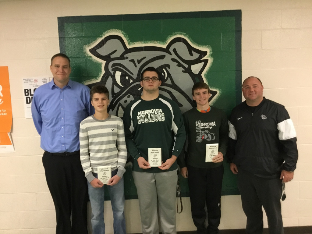 3 Bulldog Wrestlers are Nichols Insurance Athletes of the Week!
