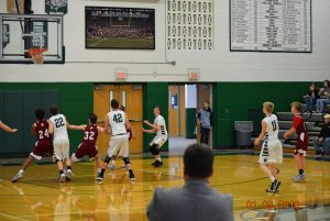 JV Boys Basketball vs. Scecina