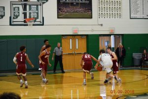 Varsity Boys Basketball vs. Scecina