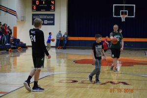 Champions Together Unified game at North Putnam 1-13-18  pt 2