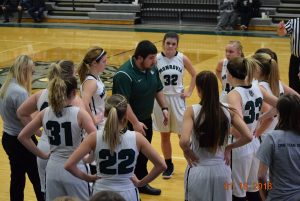 JV Girls Basketball vs Lutheran  1-16-18