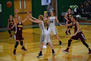 Varsity Girls Basketball vs Lutheran  1-13-18