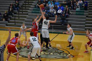 JV Boys Basketball vs South Putnam  1-20-18