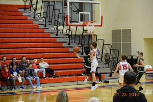 JV Boys Basketball at Plainfield  1-23-18