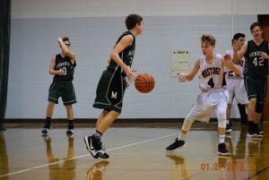 Freshman Boys Basketball at Edgewood  1-27-18