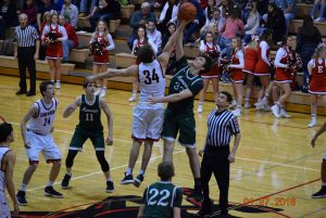 Varsity Boys Basketball at Edgewood  1-27-18